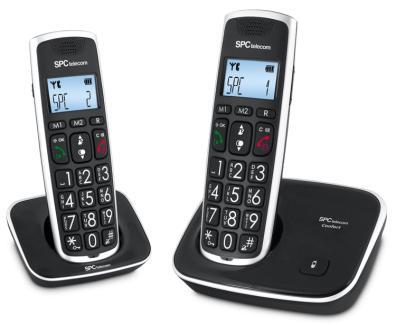 SPC telecom 7609N Negro