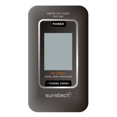 Sunstech RP D12 BK Negro