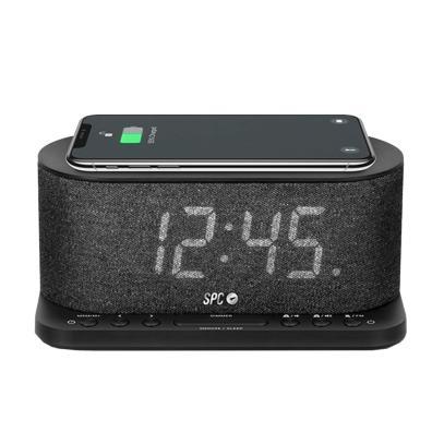 "RADIO-RELOJ SPC 4582N 4,3"" CARGA QI"
