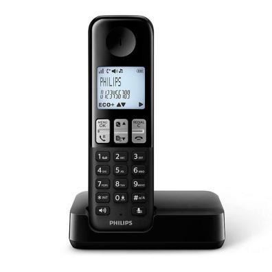 Philips D2501B Negro Negro