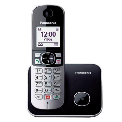 Panasonic KX-TG6851SP Negro, Plata
