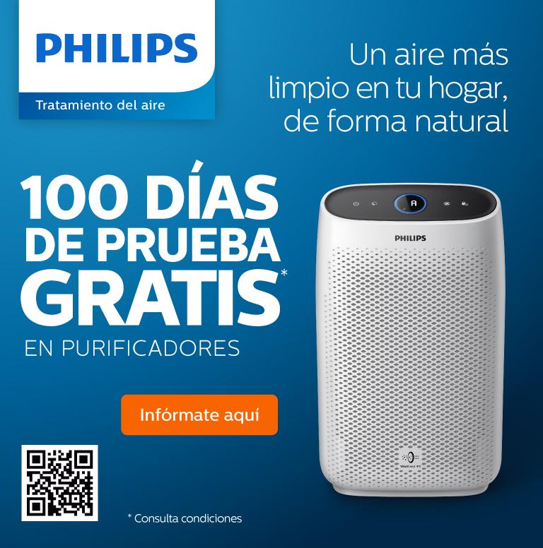 Consigue 100 días de prueba gratuita por la compra de uno de estos productos Philips