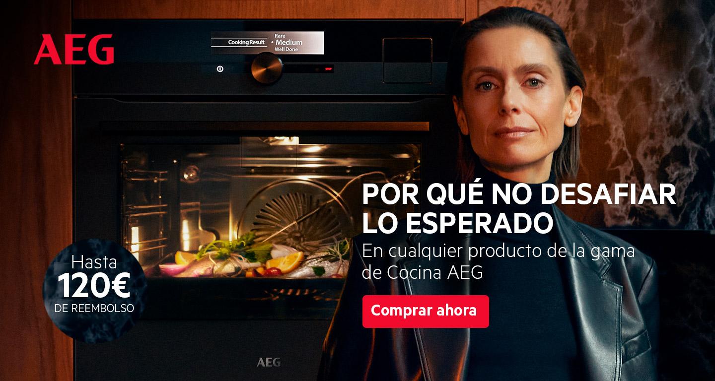 Consigue  hasta 120 euros de reembolso por la compra de tu electrodoméstico de cocina AEG