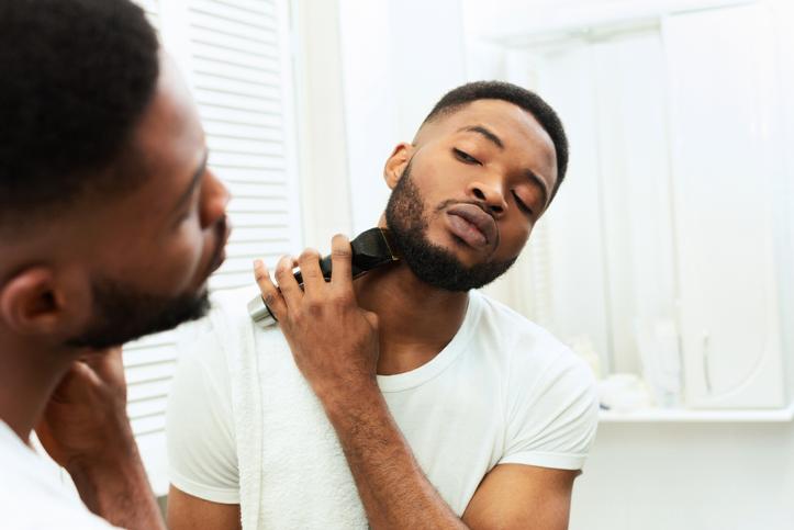 afeitar barba