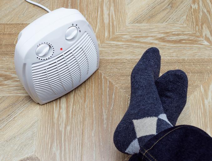 calefactor pequeño silencioso