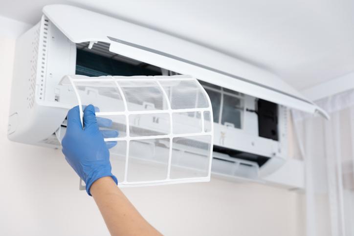 filtro polvo aire acondicionado aire mas limpio