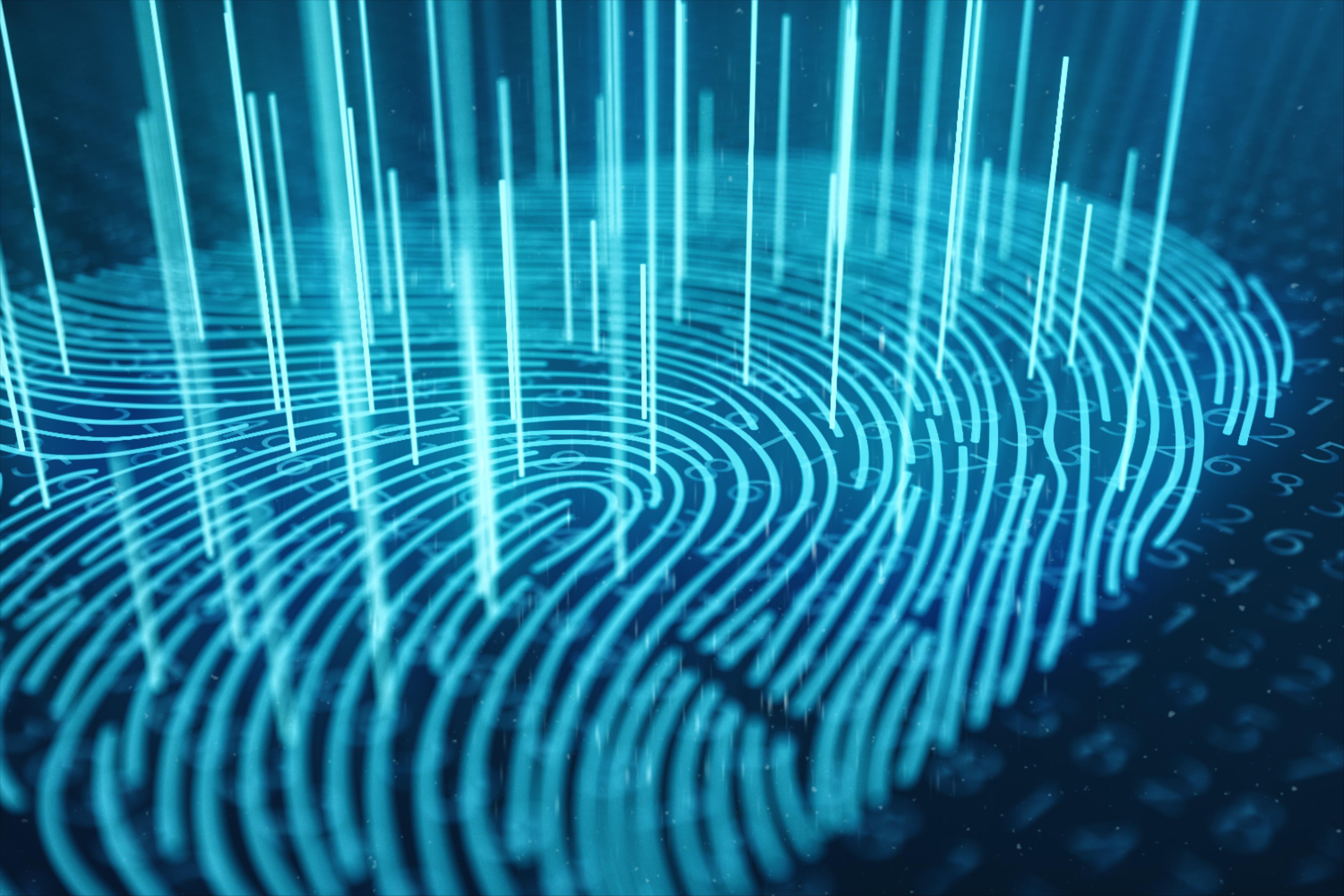 huella dactilar tecnología