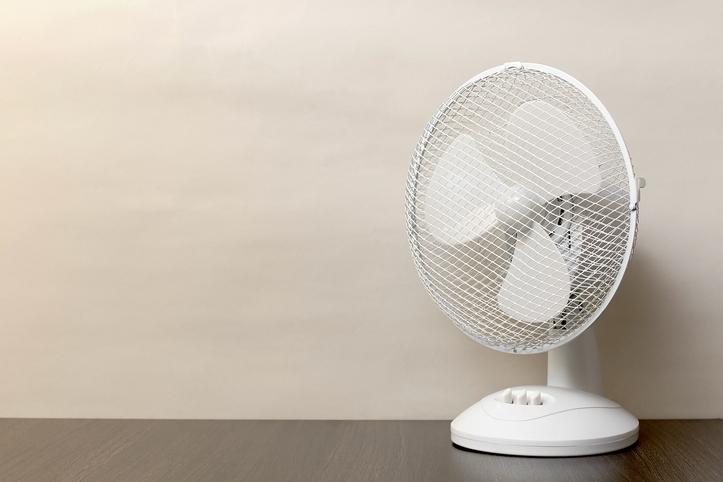 soporte estable ventilador de sobremesa